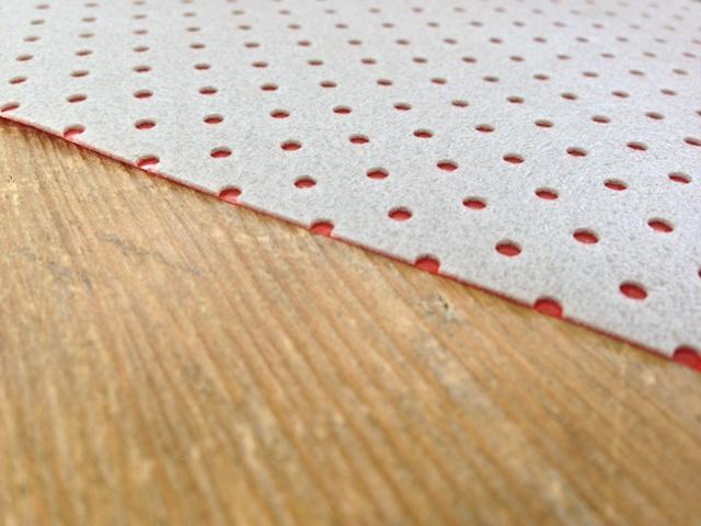Heat foil red voor pvc
