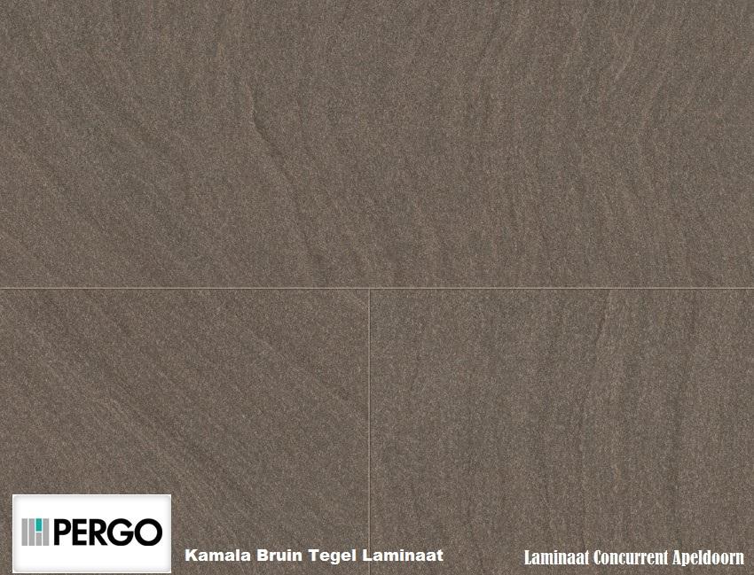 Laminaat Tegels Bruin : Pergo kamala brown tegel laminaat laminaat concurrent