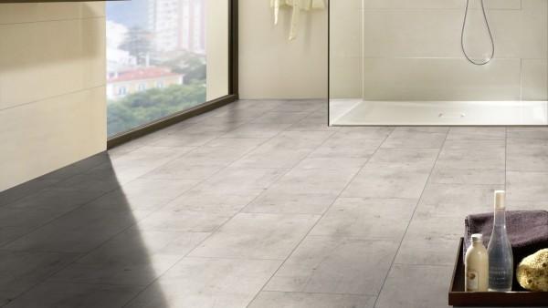 Kronotex easy wit 3851 betonlook tegel laminaat