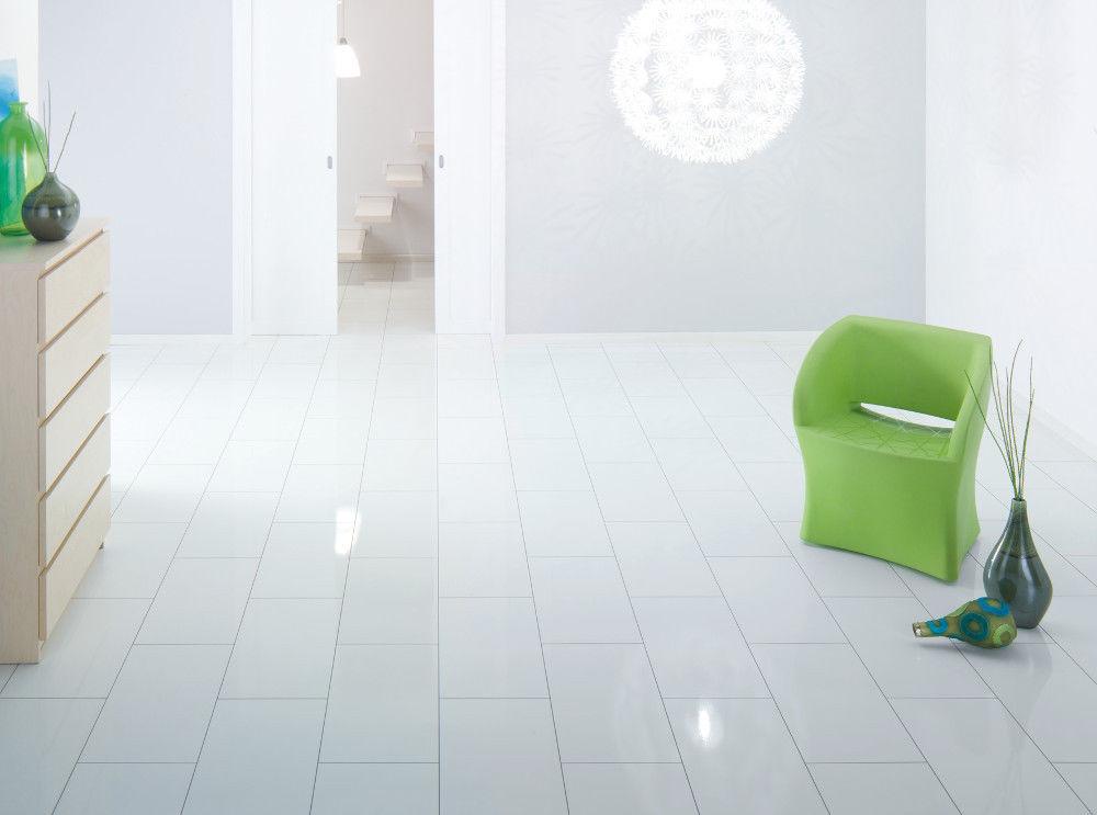 Hoogglans wit laminaat vloer: m laminaat hoogglans wit pvc en