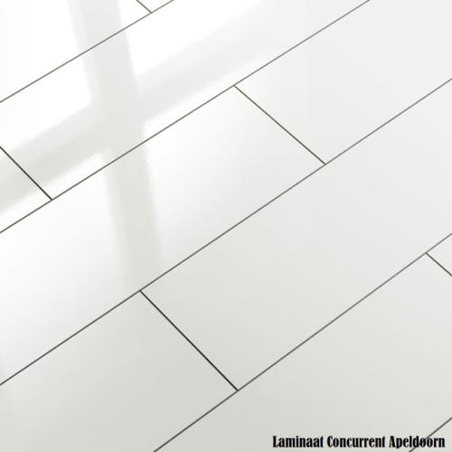 Witte tegel laminaat