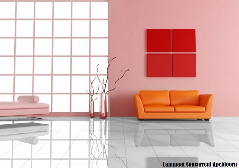 hoogglans wit d2935 tegel laminaat. Black Bedroom Furniture Sets. Home Design Ideas
