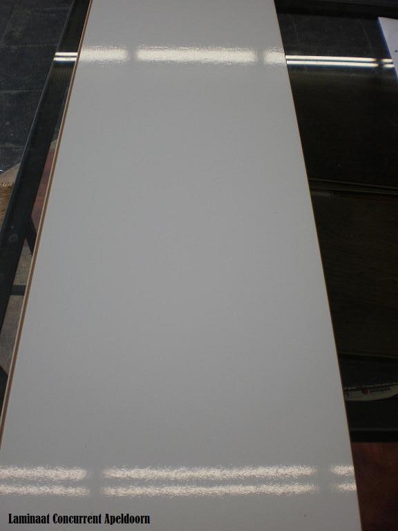 Hoogglans Wit D2935 XL Zonder Naad Wit Tegel laminaat