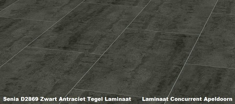 Kronotex senia stp801 d2869 zwart tegel laminaat for Tegel laminaat aanbieding