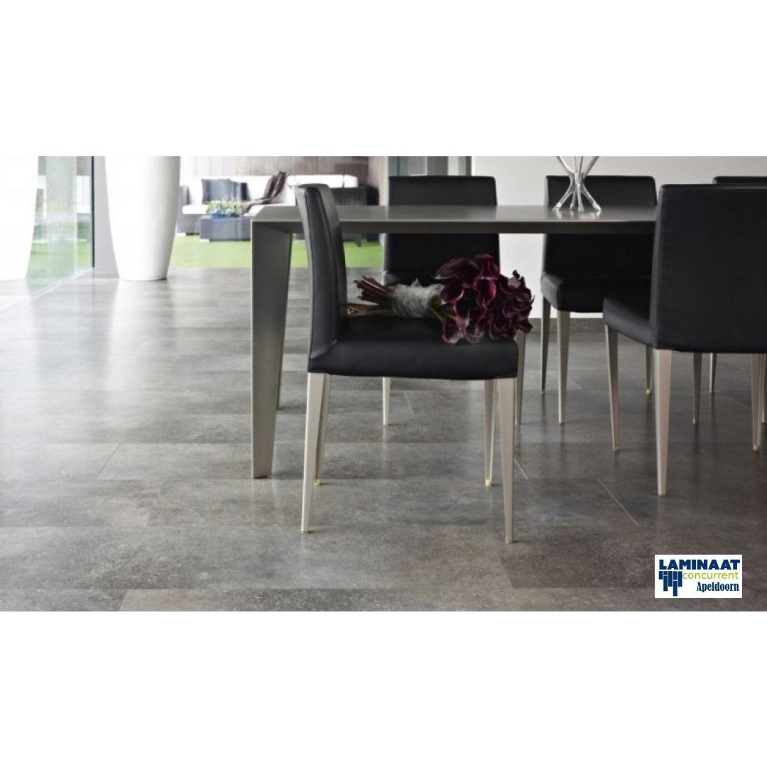 Pvc beton grijs 3 laminaat concurrent for Tegel pvc imitatie tegel cement