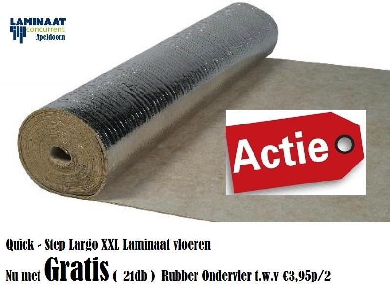 Quick step largo lpu authentieke eik met gratis rubber ondervloer
