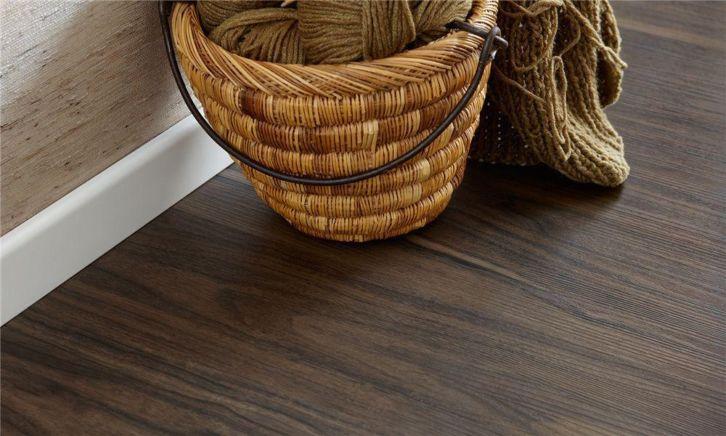Pvc vinyl click laminaat walnoot oak plank  mm dik hdf