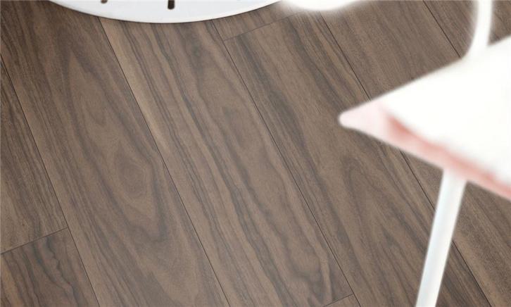Pvc vinyl click laminaat walnoot oak plank 73122 1127 10mm dik hdf