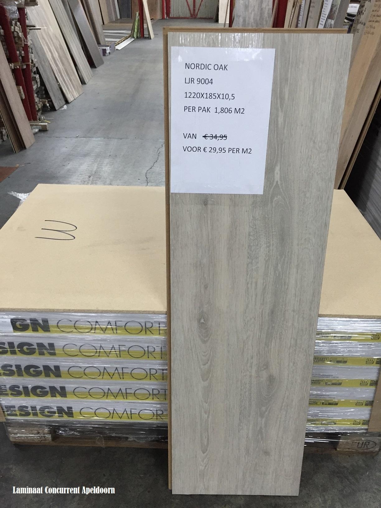 wicanders pvc click vinyl nordic oak ljr9004 10 5mm dik laminaat