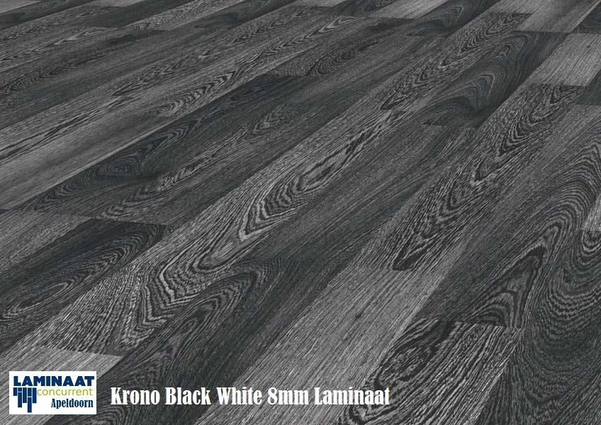 Kronotex zwart wit 2955 laminaat 8mm dik ac 4 klasse 32