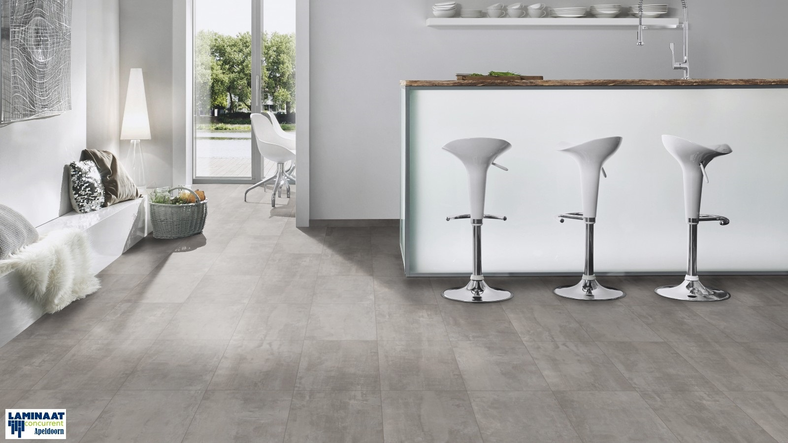 Stone impression crosstown traffic 9035 concrete grey