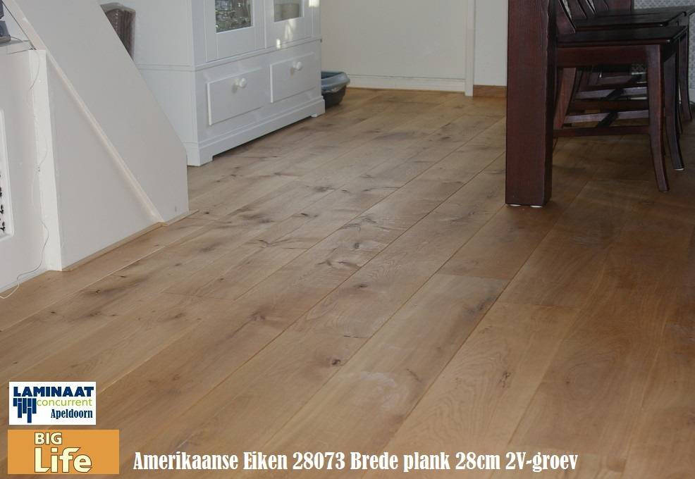 Big life amerikaans eiken 28073 xl 28cm brede plank