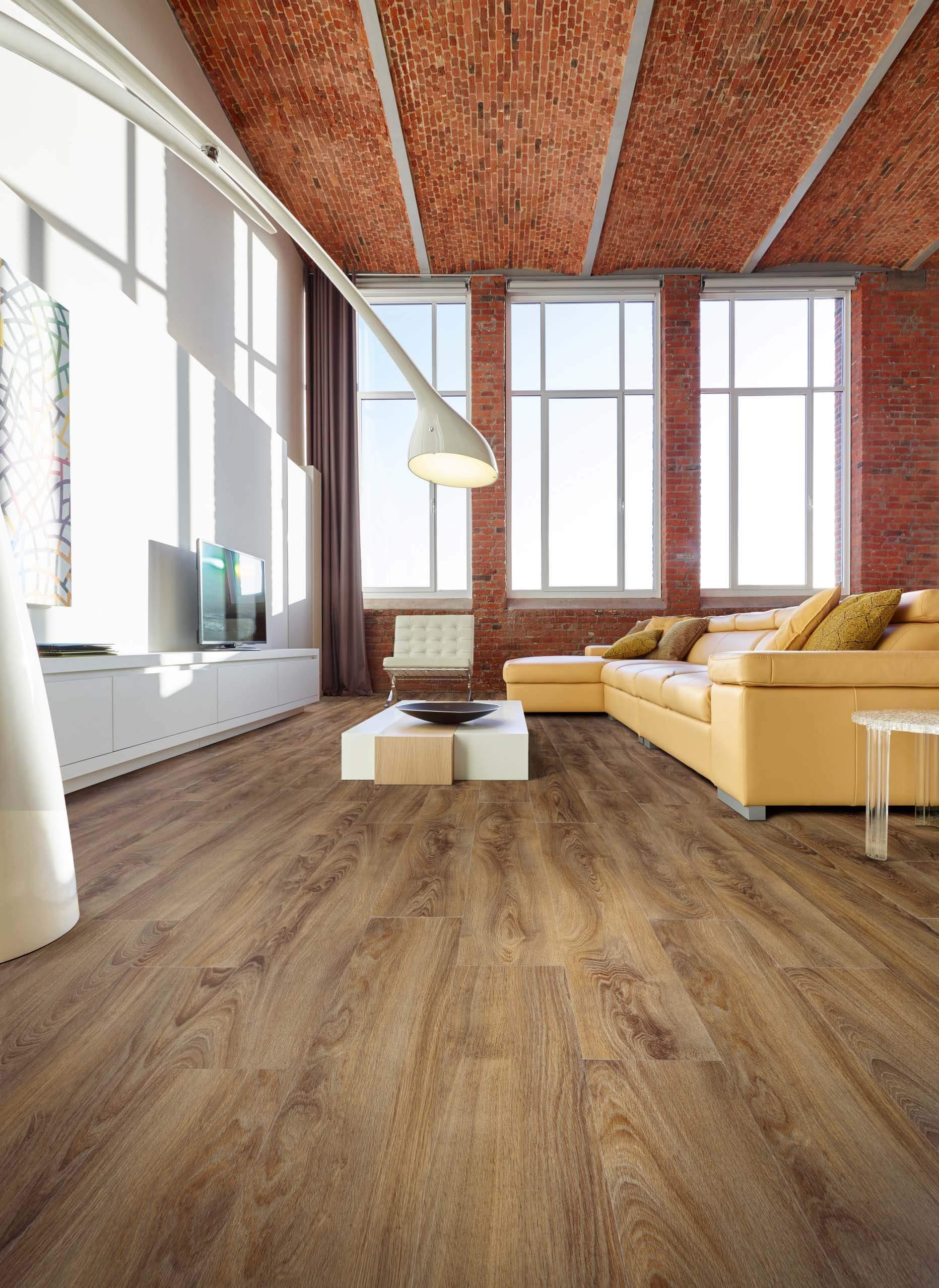 pvc click vinyl laminaat casablanca oak 4 5mm dik middel grijs
