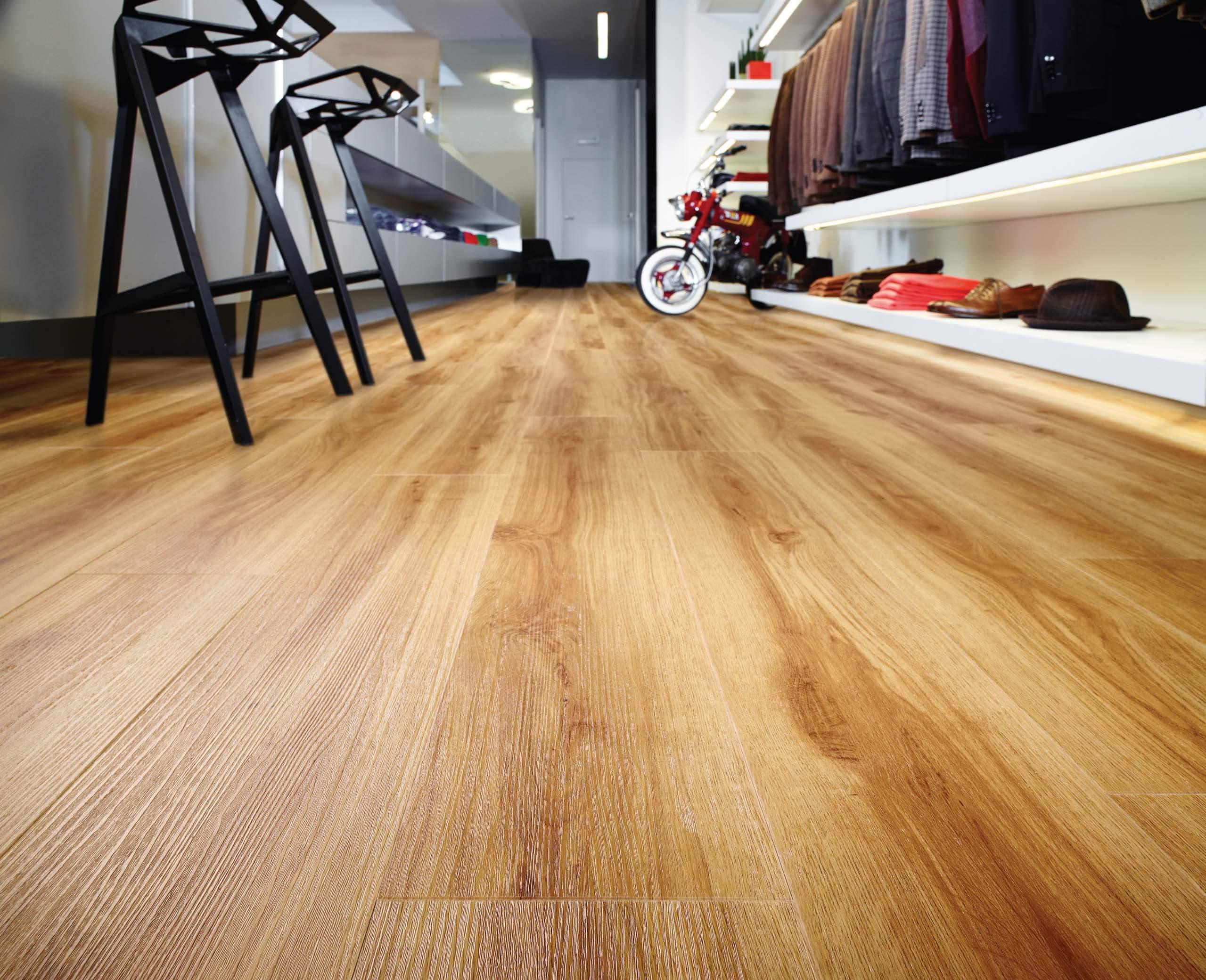 pvc click vinyl laminaat casablanca oak 4 5mm dik natuur eik