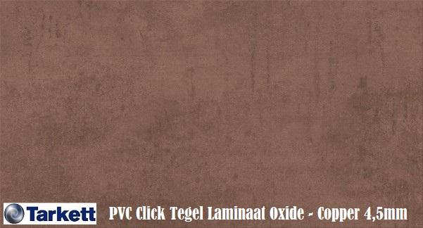 Tarkett pvc click tegel laminaat oxide copper 24266118