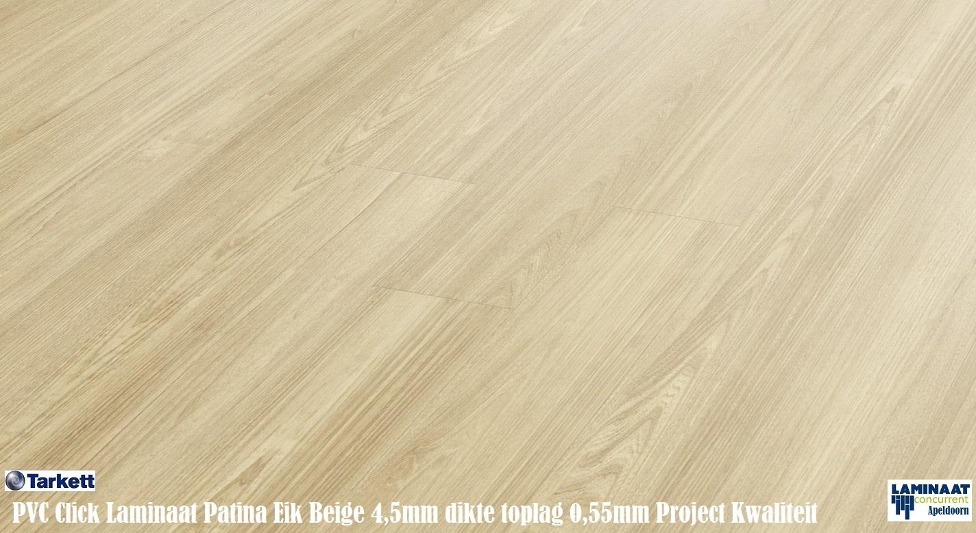 Tarkett pvc click vinyl laminaat patina ash beige 24264106