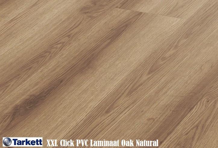Tarkett xxl pvc laminaat oak natural 24265111 150cm x 24cm brede