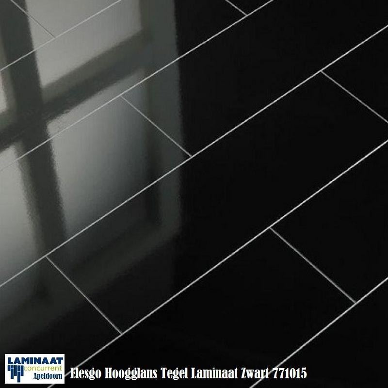hoogglans laminaat HDM Color zwart 5V