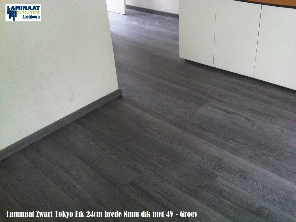 35 pak tokyo zwart eik laminaat extra large 70m2 799 for Tegel laminaat aanbieding