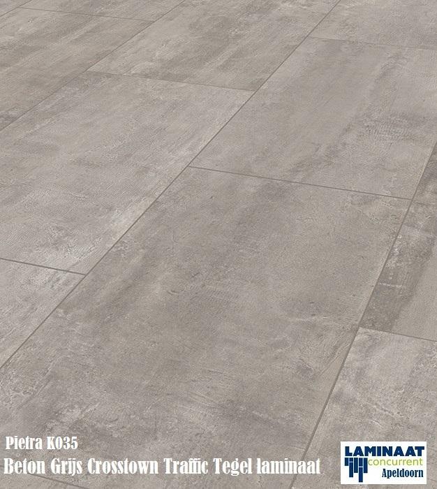 Pietra beton grijs k035 crosstown traffic tegel laminaat for Tegel laminaat aanbieding