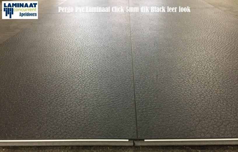 Pergo pvc click tegel laminaat zwart lederen pak m u ac in btw