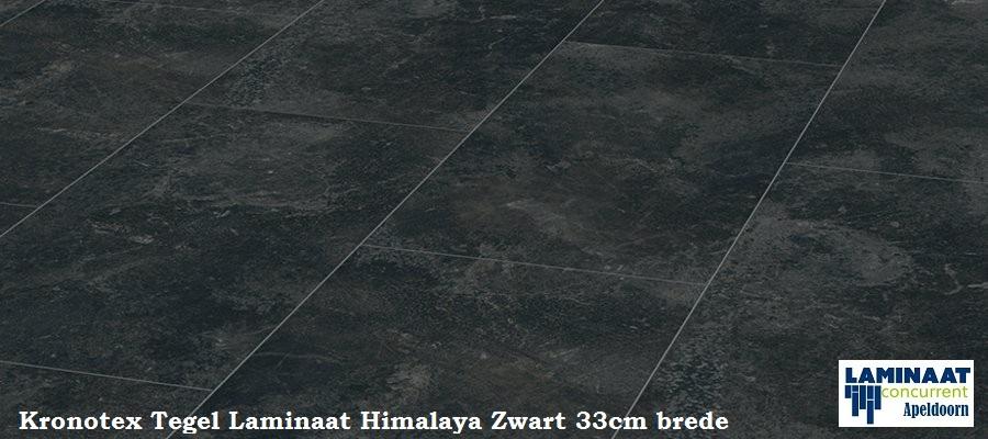 Kronotex himalaya stp804 d3079 zwart antraciet tegel for Tegel laminaat aanbieding