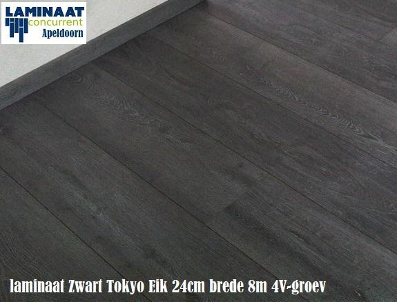 23 pak tokyo zwart eik laminaat extra large 46m2 575. Black Bedroom Furniture Sets. Home Design Ideas