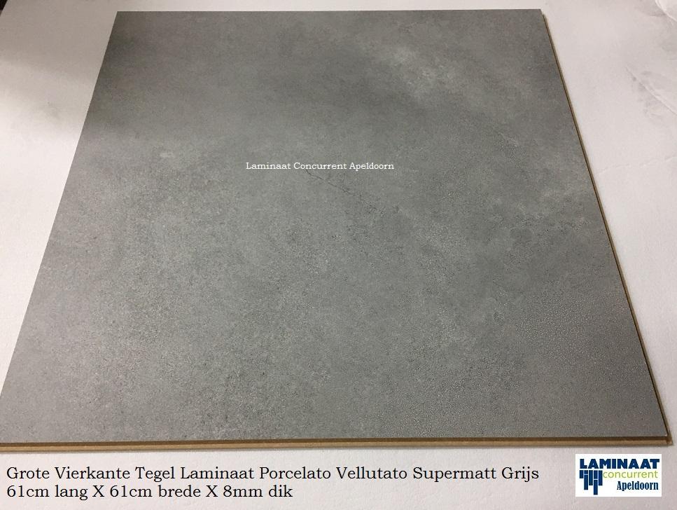 Vierkante laminaat tegel supermaat 61 x 61 cm. goedkope partijprijzen