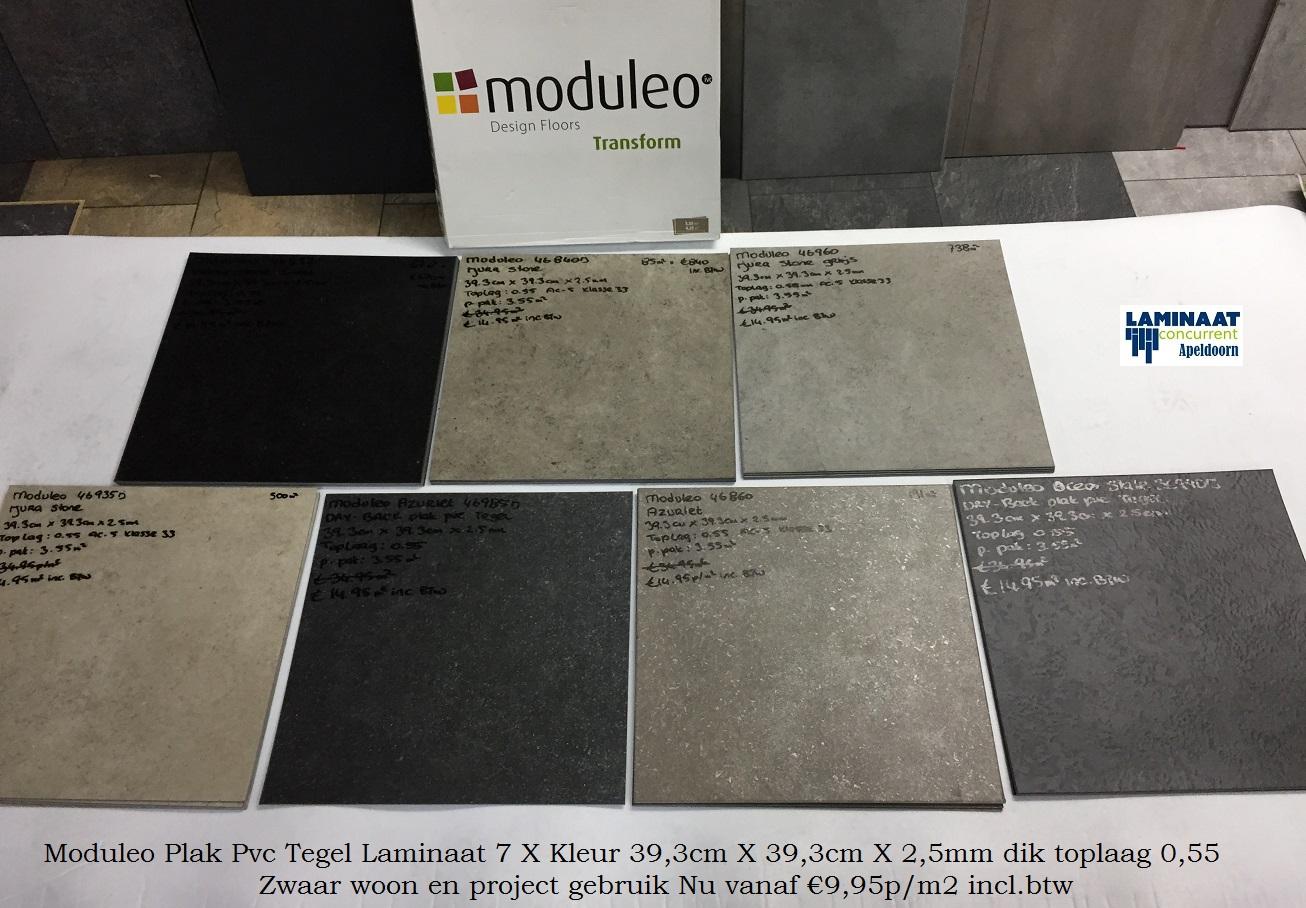 Plak vinyl tegels elegant flexxfloors clickdeluxe kunststof vloer