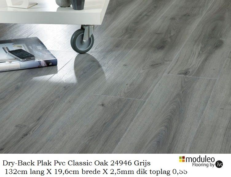 Dikte Pvc Laminaat : Plak pvc laminaat classic oak q grijs mm dikte laminaat