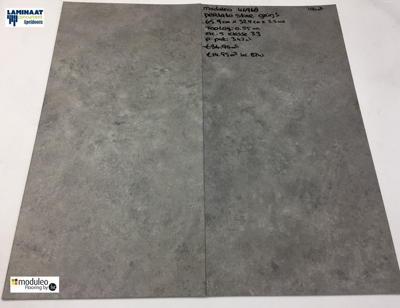 Plak Pvc Tegels : Perlato stone m plak pvc tegel laminaat grijs laminaat