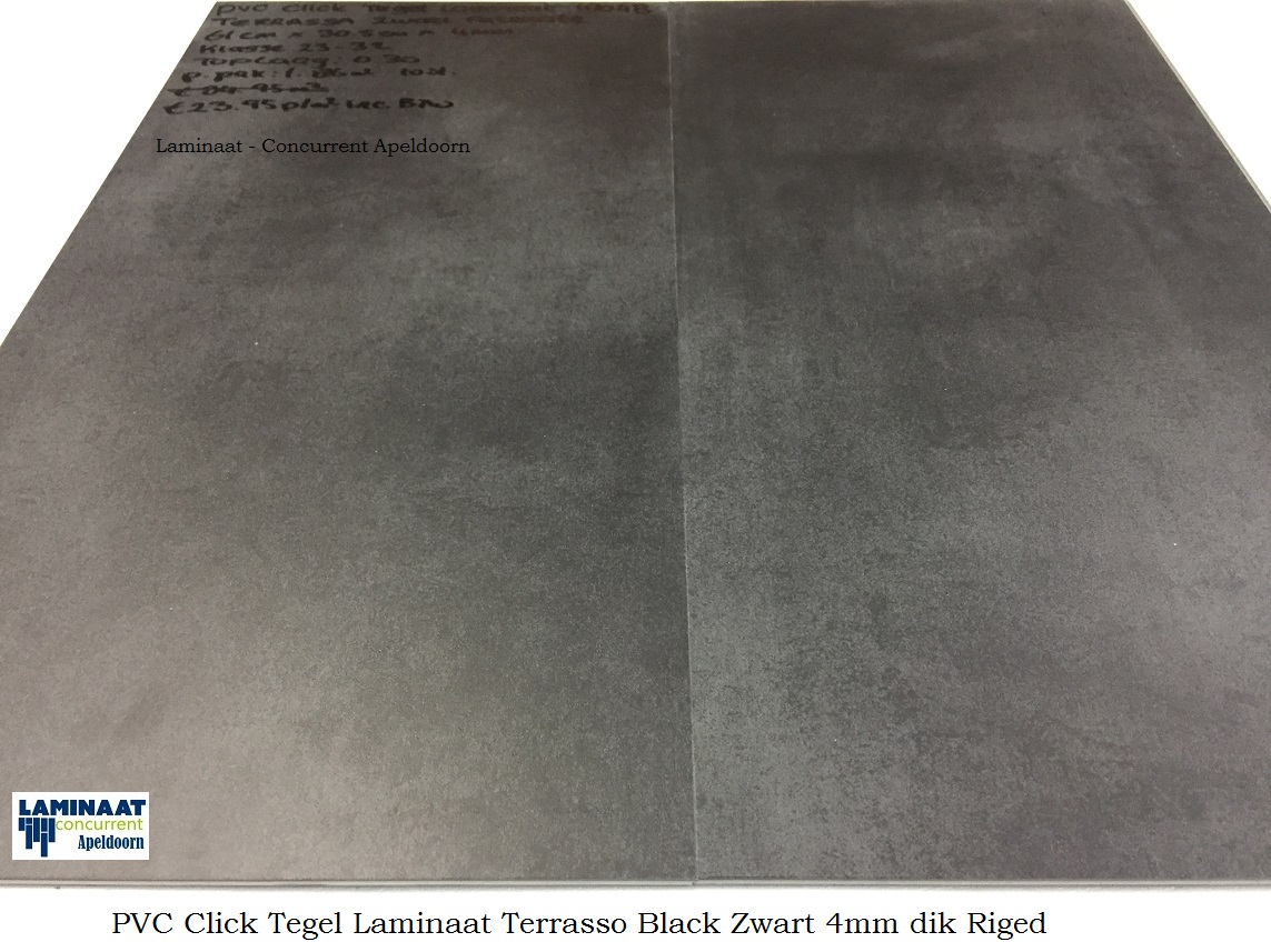 Pvc click tegel laminaat zwart terrassa mm dik laminaat concurrent