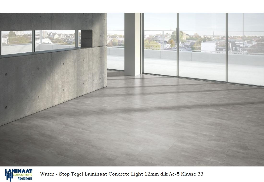 waterbestendig laminaat tegel Medina Light Concrete 828 1