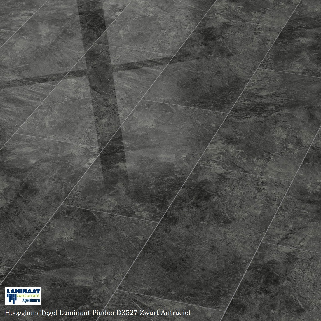 hoogglans tegel laminaat grijs Pindos D3527 0