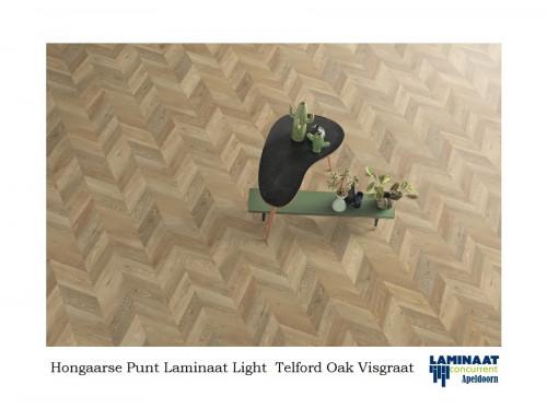 visgraat laminaat Light Telford Oak 5