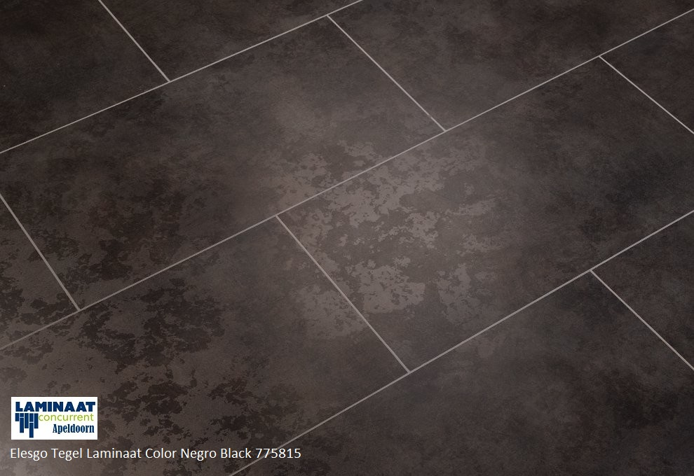 tegel laminaat zwart Color Black Negro 775815 1