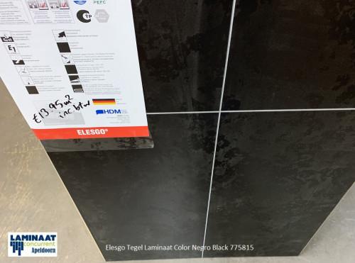 tegel laminaat zwart grijs