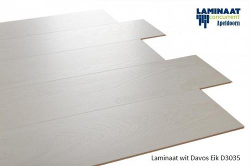 laminaat wit Davos D3035 2
