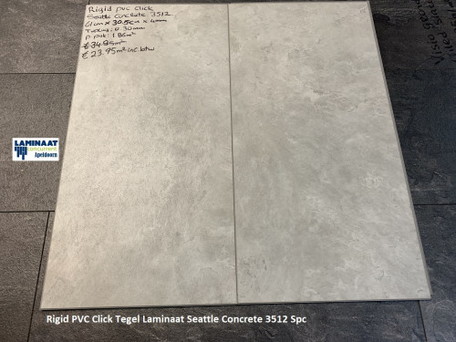 pvc klik tegel Seattle Concrete 3512 1