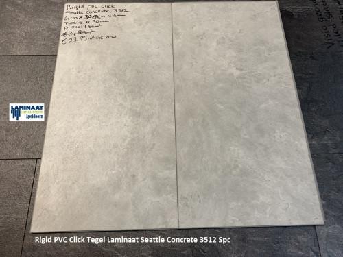 pvc klik tegel Seattle Concrete 3512 1