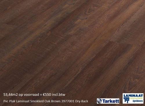 pvc laminaat bruin Smokked Oak Brown 3977001 1