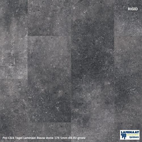pvc tegel zwart Blue stone 40174 2