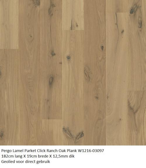 pergo lamel parket Ranch Oak Plank 1