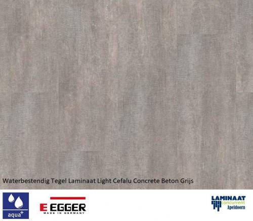egger aqua+ tegel laminaat Light Cefalu Concrete EHL004 1