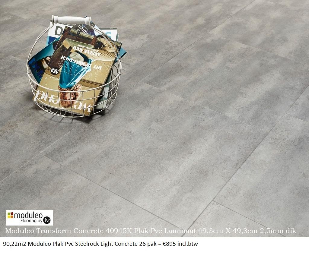 moduleo Light Concrete 40945K 0
